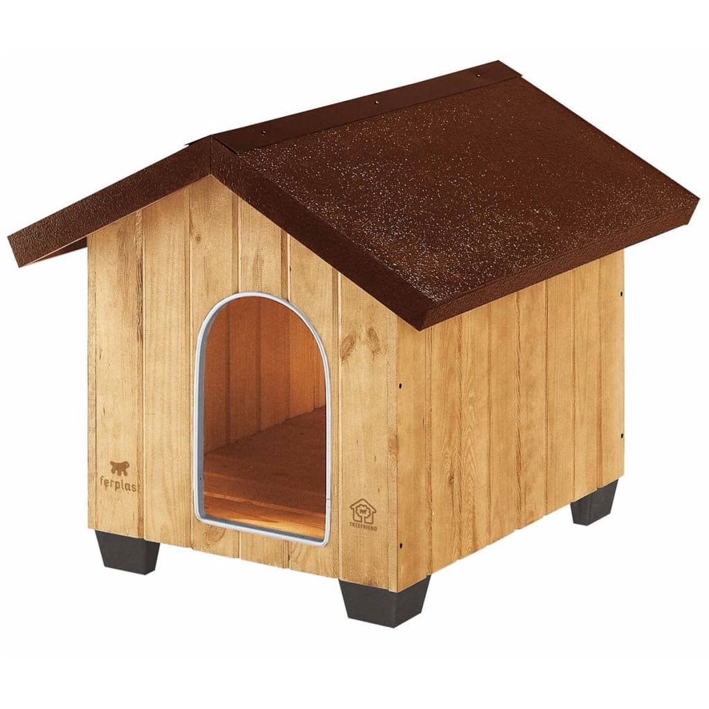 Afbeelding van Ferplast Hondenhok Domus Medium 73x85x67,5 cm hout 87002000