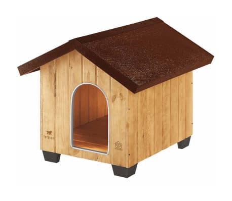 Ferplast Caseta para perros Domus Medium madera 73x85x67,5 cm 87002000