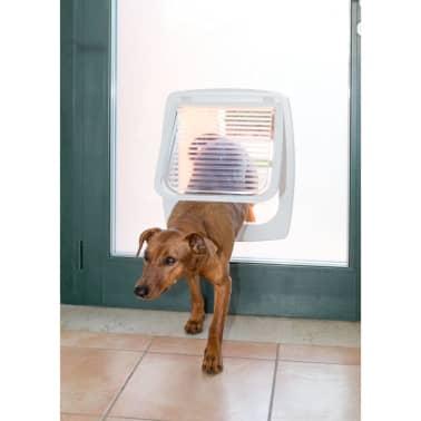 Ferplast 4-Way Manual Pet Flap Swing 11T White 72106011[5/5]