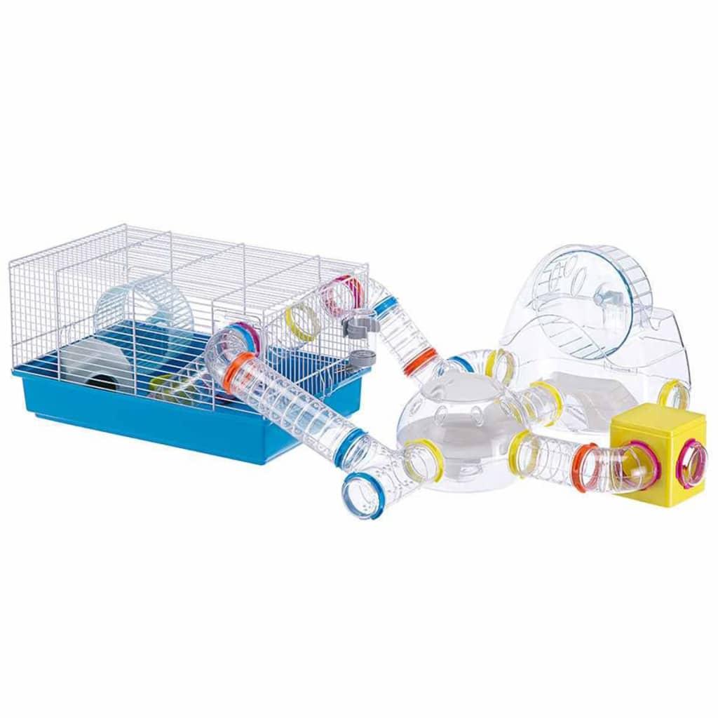 Ferplast Hamsterkooi Paula 46x29,5x24,5 cm blauw 57906411