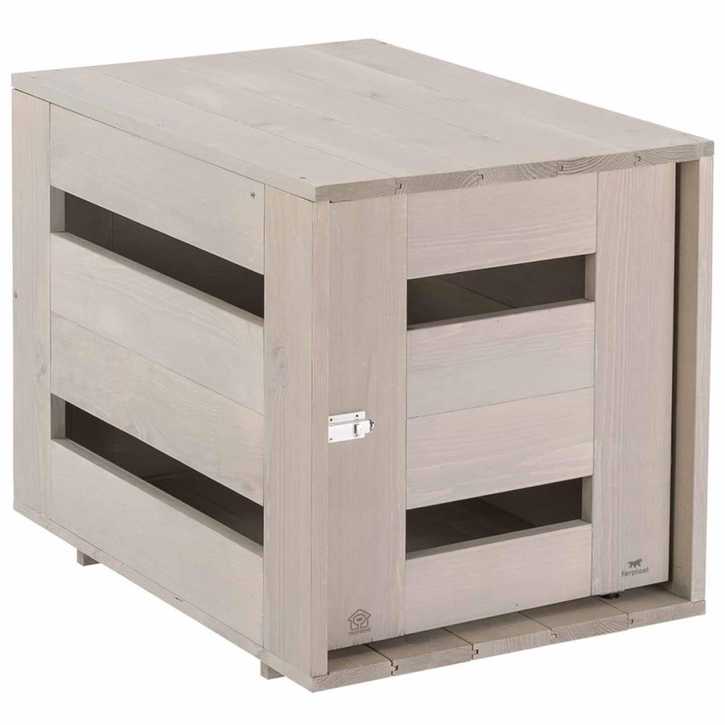 Afbeelding van Ferplast Hondenbench Home medium 84x57x63 cm hout 87030221