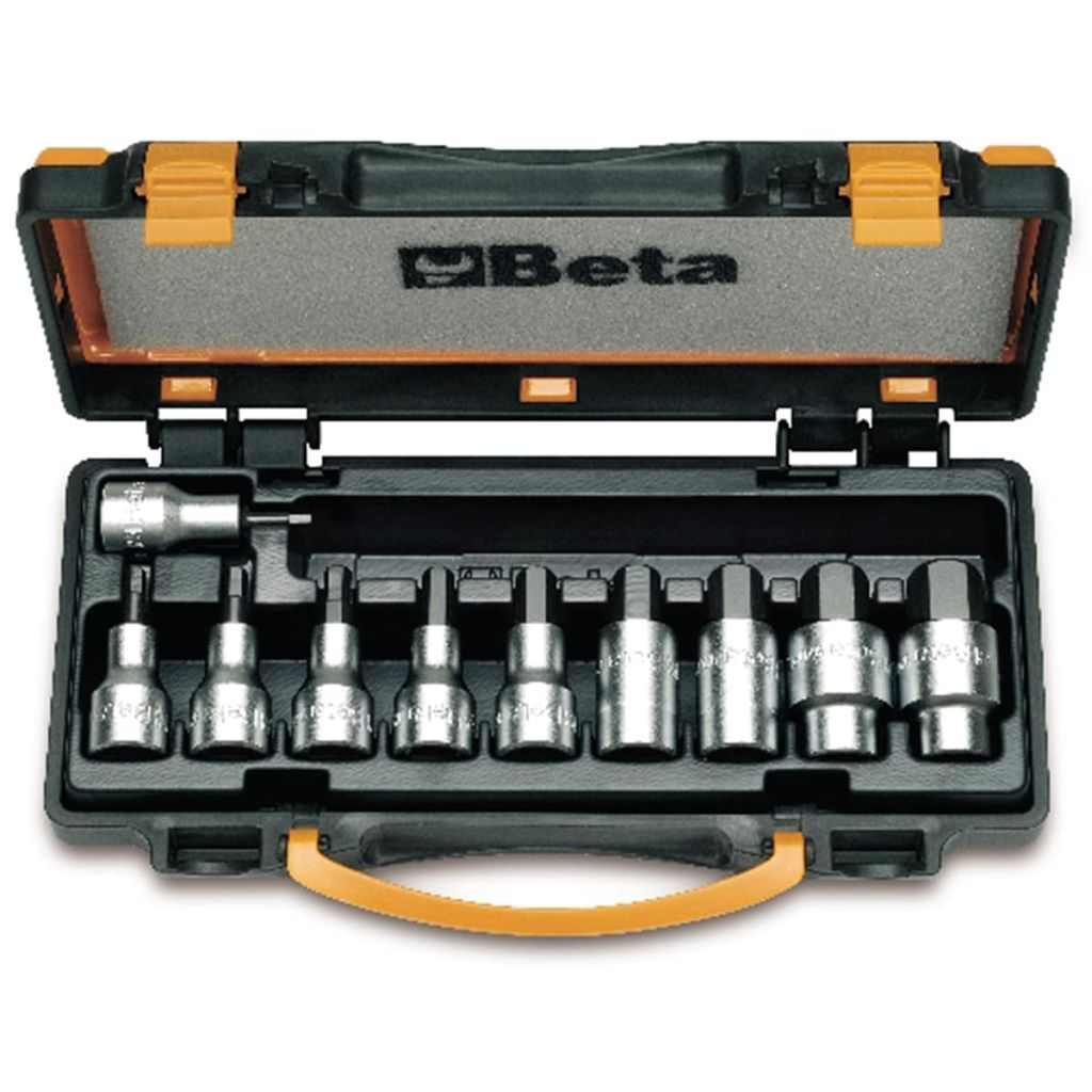 Beta Tools 10-delige dopsleutelset 920PE-C10 staal