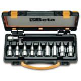 Beta Tools Set 10 pz Chiavi a bussola 920PE/C10 in acciaio 009200443