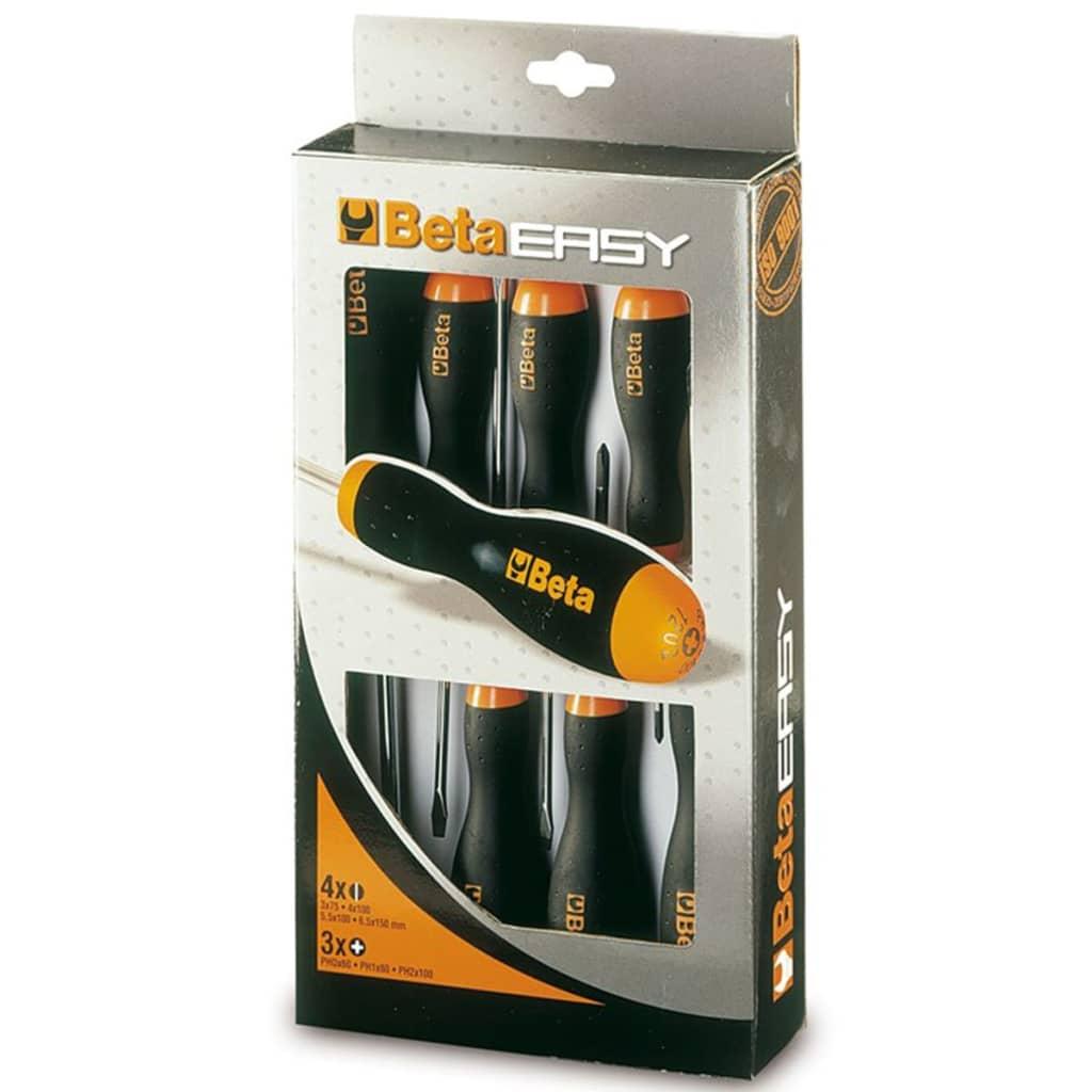 Afbeelding van Beta Tools schroevendraaierset 1203/D7 staal 7-delig 012030007