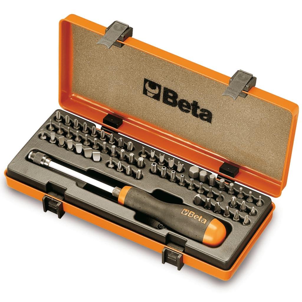 Beta Tools 62-tlg. Schrauberbit-Satz 861/C61P 008610978