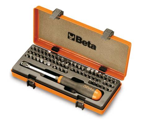 Beta Tools Jeu d'embouts 62 pcs 861/C61P 008610978[1/2]
