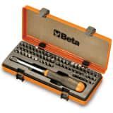Beta Tools Jeu d'embouts 62 pcs 861/C61P 008610978