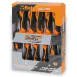 Beta Tools Skruvmejslar tio st 1263/D10 stål 012630010