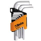 Beta Tools set llaves hexagonales de acero 9 uds 96/SC9 000960374