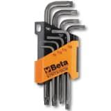 Beta Tools 8-częściowy zestaw kluczy Torx 97RTX/SC8, stal, 000970263