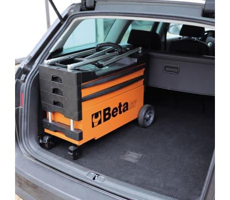 """Beta Tools sammenklappelig værktøjsvogn """"C27S-O"""" orange stål 027000201[4/7]"""