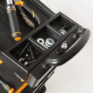 """Beta Tools sammenklappelig værktøjsvogn """"C27S-O"""" orange stål 027000201[5/7]"""