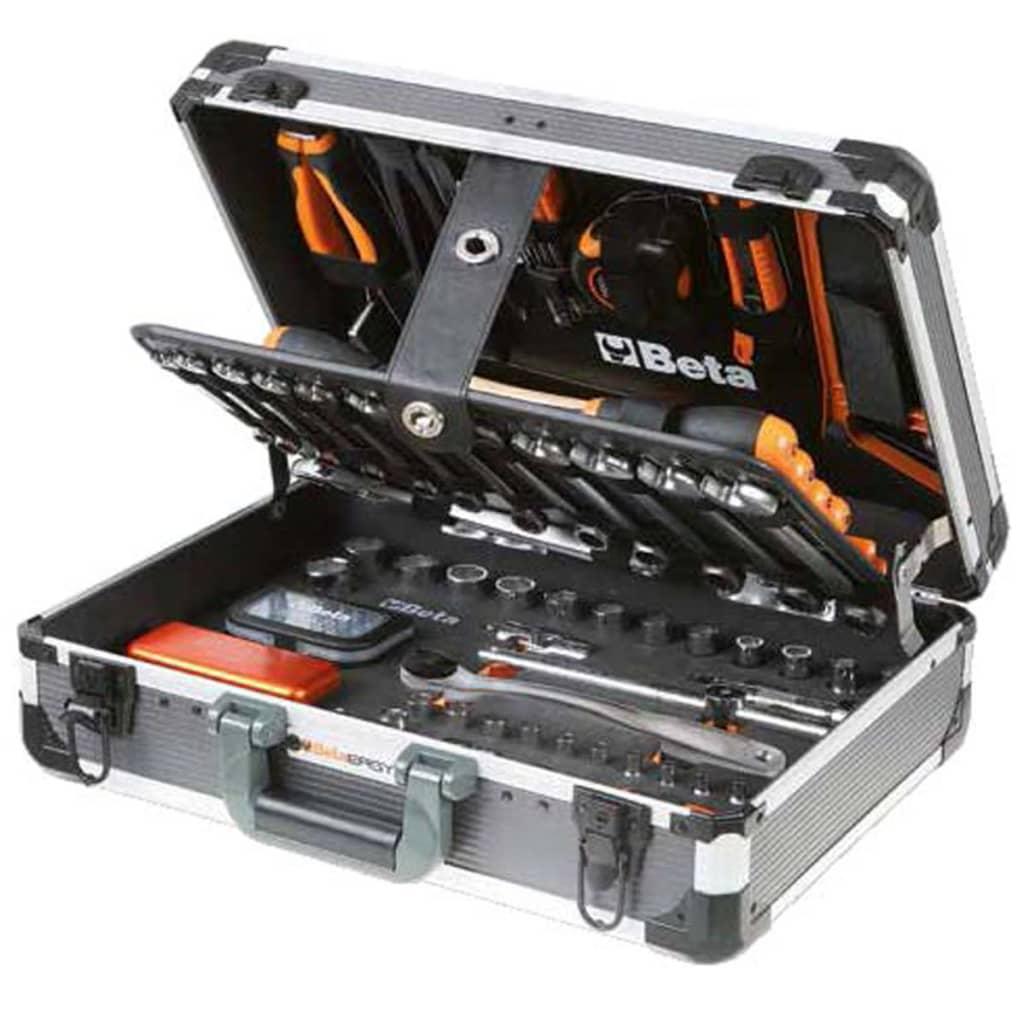 Afbeelding van Beta Tools 2056E/E gereedschapskoffer 146-delig aluminium 020560311