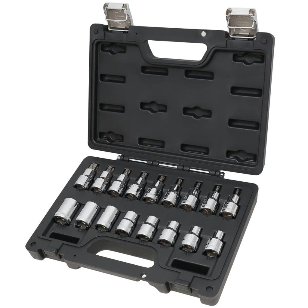 Beta Tools Torx-Steckschlüssel-Satz 923E-FTX/C17 009231017