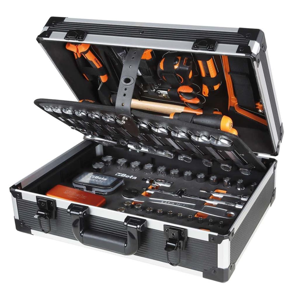 Beta Tools Set scule 146 piese în carcasă 2056E/E, aluminiu 020560411 poza vidaxl.ro