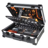 Beta Tools Mala de ferramentas 146 pcs Easy 2056E/E alumínio 020560411