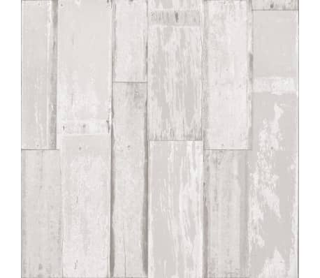Wonderbaar Urban Friends & Coffee Behang houten planken wit | vidaXL.nl ZL-24