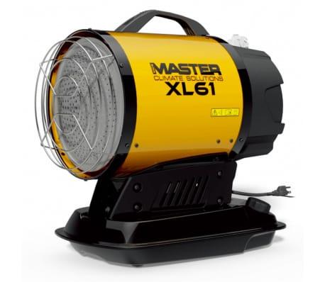 Master Infraraudonųjų spindulių dyzelinis šildytuvas, XL 61, 17 kW[1/2]