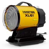 Master infrasarkanais dīzeļa sildītājs XL 61, 17 kW