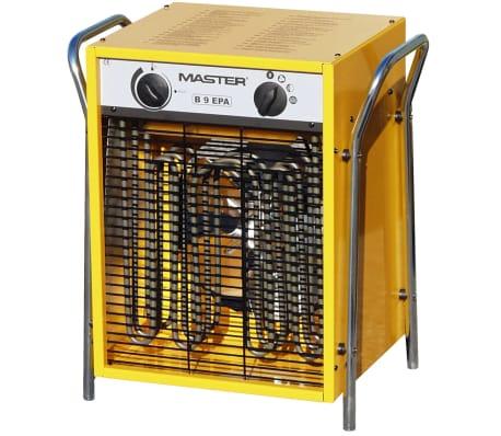 B9EPB aquecedor com ventilador eléctrico 800 m³/h
