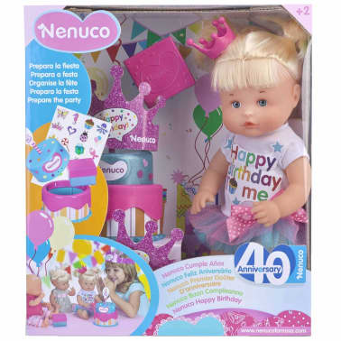 Nenuco Muñeca Happy Birthday rosa 700013390[6/6]