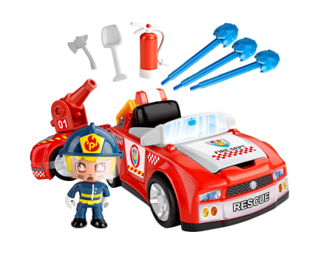 PinyPon Coche de bombero de juguete