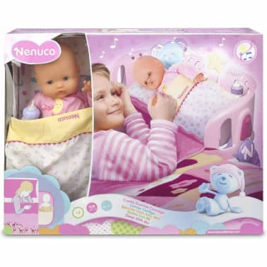 Nenuco Muñeca con cuna Sleep with Me rosa 700007431[3/3]
