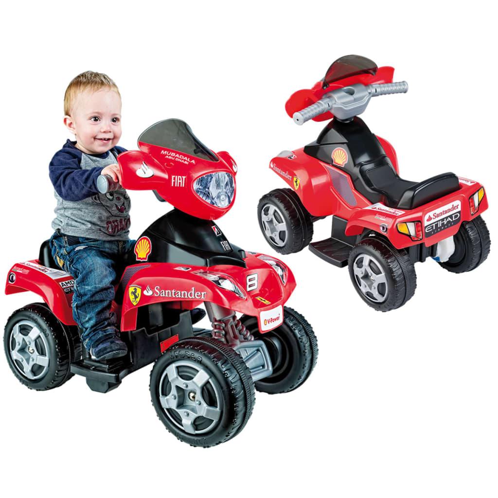 Feber Elektro Kinderauto Kinderquad Kinder Fahrzeug Quad Elektroauto Elektroauto Elektroauto Ferrari  16b155