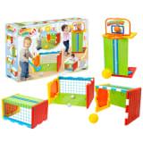 Feber 4in1 Sports Cube Sportwürfel Spieltisch Spielset