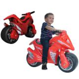 Injusa Vaikiškas Motociklas Spline, Raudonas