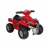Feber Quad eléctrico de juguete Racy 6 V rojo