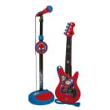 Guitare Et Micro Spiderman