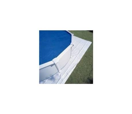 GRE POOLS - Tapis de sol feutrine piscine ovale 610 x 375