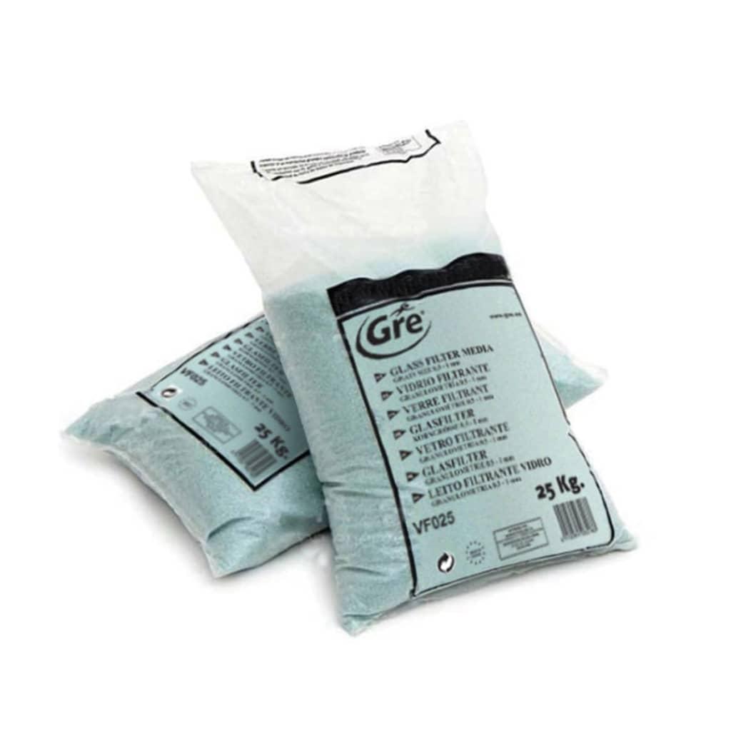 Gre Filtrační sklo 25 kg 0,5–1 mm VF025