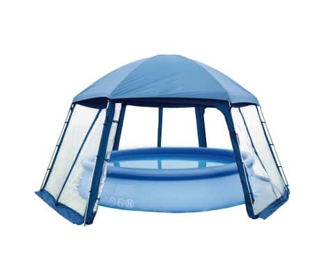 Gre Tente de piscine 400 cm Bleu PH54