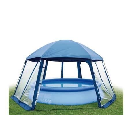 Gre Tente de piscine 400 cm Bleu PH54[2/2]