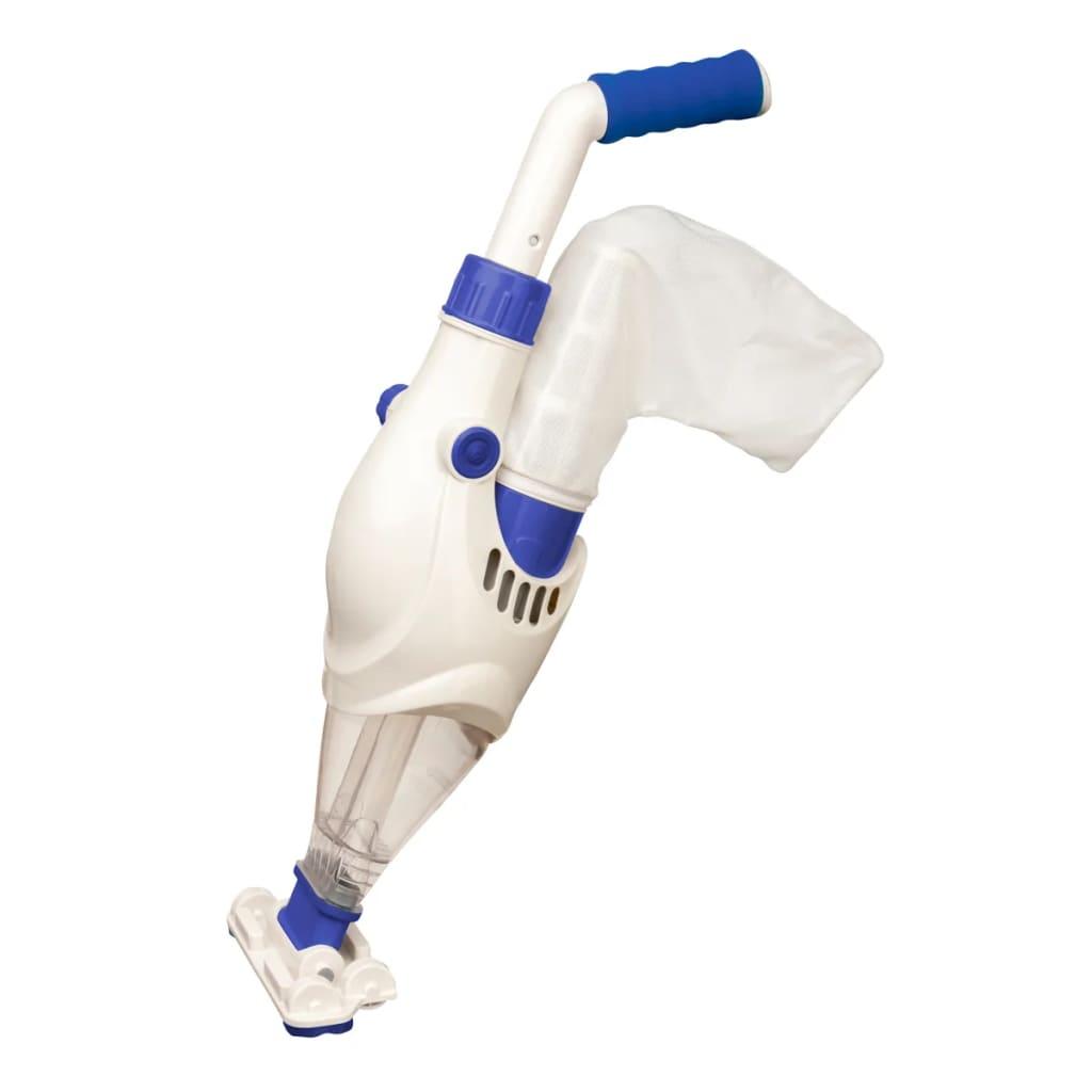 Gre Aspirator de piscină alb și albastru vidaxl.ro
