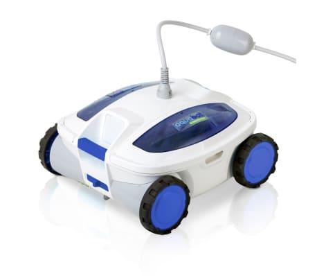 acheter gre nettoyeur robotique de piscine track blanc et bleu pas cher. Black Bedroom Furniture Sets. Home Design Ideas
