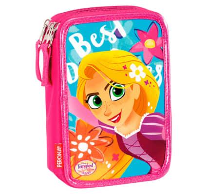 Disney Princess Rapunzel Tangled 44-delars Trippel Fyllt Pennfodral Sk