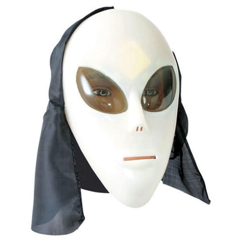 Fijasa Alien-Maske neon