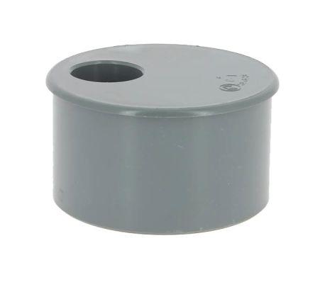 Tampon PVC réduit mâle-femelle Ø100-32