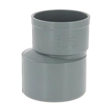 Réduction excentrée PVC mâle-femelle Ø100-80[1/1]