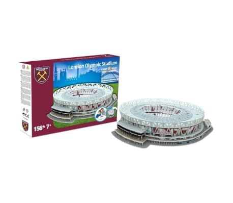 Nanostad Juego de puzzle 3D 156 piezas London Olympic Stadium[2/2]