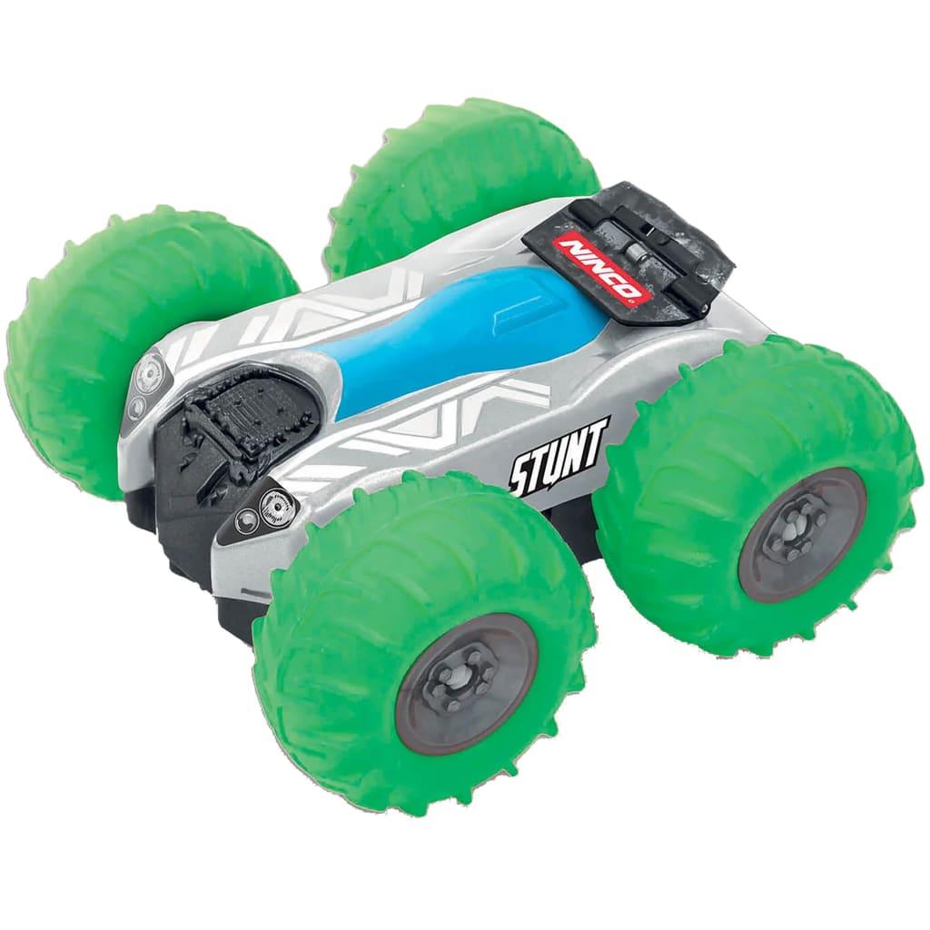 Ninco Mașinuță de jucărie cu telecomandă Stunt, rotativă, verde imagine vidaxl.ro