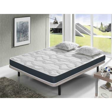 acheter matelas dormalit ergoconfort 140x200 mousse m moire de forme airfresh pas cher. Black Bedroom Furniture Sets. Home Design Ideas