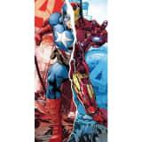 Marvel, Strandhandduk - Captain America/Iron Man