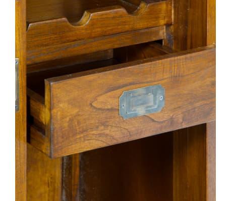 Flessenrek Mindi hout (100 x 70 x 45 cm) - Serious Line Collectie by[3/3]