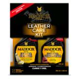 Maddox Detail - Leather Care Kit - Limpiador y acondicionador de cuero