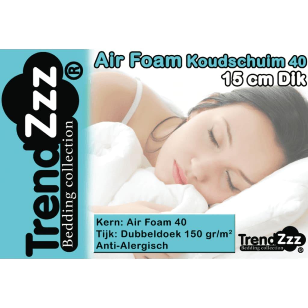 TrendZzz Luxe koudschuim matras 90x210cm AIR 40 TrendZzz®