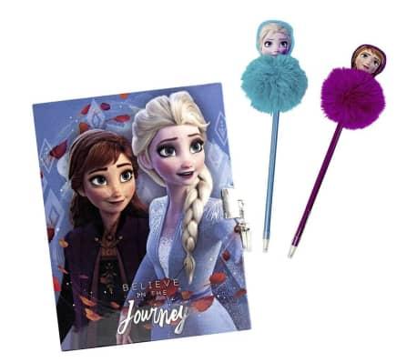 Frozen 2, Dagbok med Penner - Journey